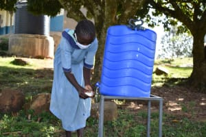 The Water Project: Isango Primary School -  Handwashing Session