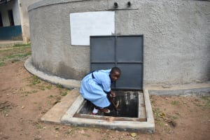 The Water Project: Isango Primary School -  Enjoying The Water