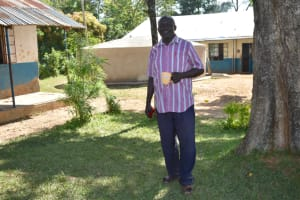 The Water Project: Isango Primary School -  Teacher Geoffrey Murunga