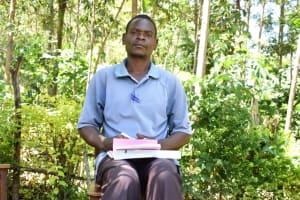 The Water Project: Emusaka Community, Muluinga Spring -  Duncan Odongo