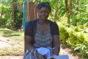 The Water Project: Emusaka Community, Muluinga Spring -  Janet Eshimulinganga