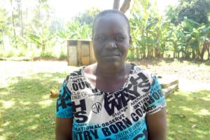 The Water Project: Bukalama Community, Wanzetse Spring -  Sophia Awinja