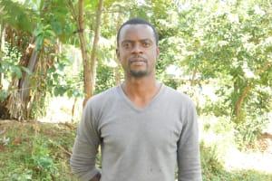 The Water Project: Bukalama Community, Wanzetse Spring -  Davis Inzofu