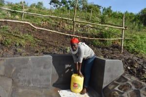 The Water Project: Bukalama Community, Wanzetse Spring -  Happy Day