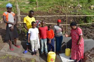 The Water Project: Bukalama Community, Wanzetse Spring -  Water Celebrations