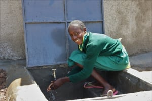 The Water Project: St. Peters Bwanga Primary School -  All Smiles