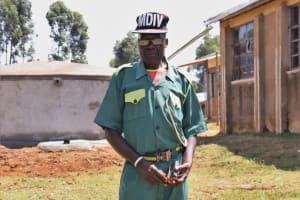 The Water Project: St. Peters Bwanga Primary School -  Mr Fredrick Nambwa School Security Guard