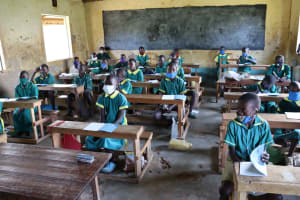 The Water Project: St. Peters Bwanga Primary School -  Students Ready For The Training Session