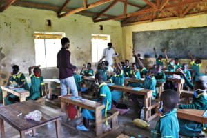 The Water Project: St. Peters Bwanga Primary School -  Active Participation At Training