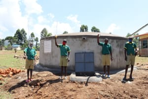 The Water Project: St. Peters Bwanga Primary School -  Making A Splash