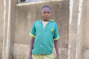 The Water Project: St. Peters Bwanga Primary School -  Student Manuel