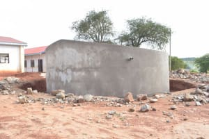 The Water Project: Kamuwongo Primary School -  Completed Tank