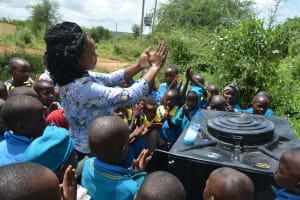 The Water Project: Kamuwongo Primary School -  Handwashing Demonstration
