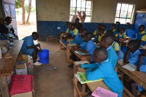 The Water Project: Kamuwongo Primary School -  Soapmaking Demonstration