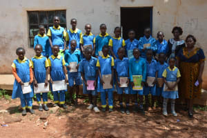 The Water Project: Kamuwongo Primary School -  Student Health Club Members