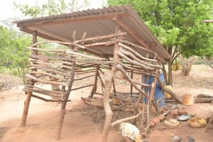 The Water Project: Kithalani Community -  Cattle Pen