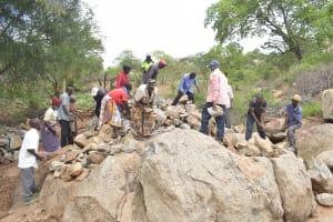 The Water Project: Kithalani Community -  Lenza Mukuyuni Shg