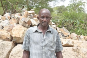 The Water Project: Kithalani Community -  Pius Kyalo
