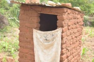 The Water Project: Kithalani Community -  Latrine