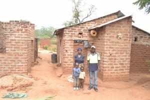 The Water Project: Kithalani Community A -  Angelina And Her Family