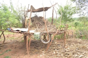 The Water Project: Kithalani Community A -  Cattle Shed