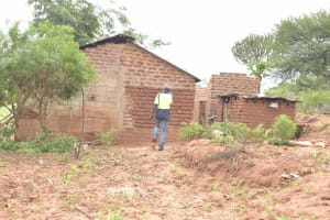 The Water Project: Kithalani Community A -  Compound