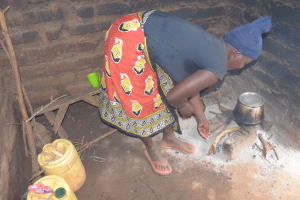The Water Project: Kithalani Community A -  Cookstove