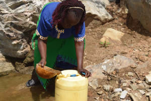 The Water Project: Lema Community A -  Fetching Water