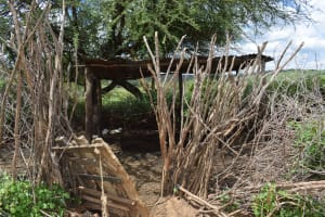 The Water Project: Lema Community -  Animal Pen