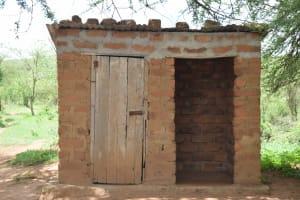 The Water Project: Lema Community -  Latrine