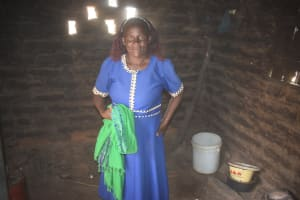 The Water Project: Lema Community A -  Damaris Inside Her Kitchen