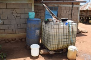 The Water Project: Lema Community A -  Water Storage Containers