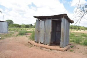 The Water Project: Mang'uu Primary School -  Boys Latrines