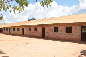 The Water Project: Mang'uu Primary School -  Classrooms