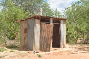 The Water Project: Mang'uu Primary School -  Girls Latrines