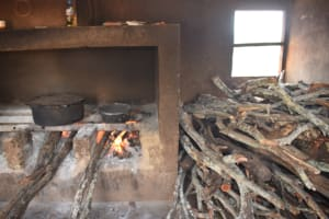 The Water Project: Mang'uu Primary School -  Kitchen Cook Stove