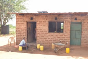 The Water Project: Mang'uu Primary School -  School Kitchen