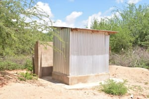 The Water Project: Mang'uu Primary School -  Staff Latrines