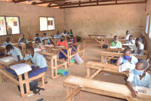 The Water Project: Mang'uu Primary School -  Students In Class