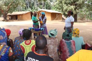 The Water Project: Lokomasama, Gbonkogbonko Village -  Handwashing Demonstration
