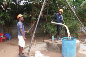 The Water Project: Lungi, New York, Robis, #7 Masata Lane -  Bailing