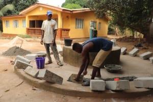 The Water Project: Lungi, New York, Robis, #7 Masata Lane -  Pad Construction