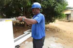 The Water Project: Lungi, New York, Robis, #7 Masata Lane -  Pump Installation