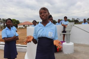 The Water Project: Lungi, International High School For Science & Technology -  Rebecca S Making Statement