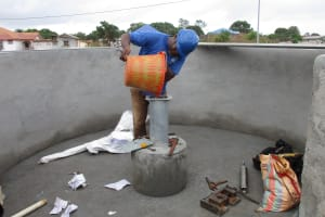The Water Project: Lungi, International High School For Science & Technology -  Chlorination