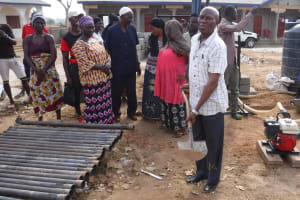 The Water Project: Lungi, International High School For Science & Technology -  Ground Breaking