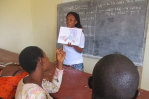 The Water Project: Lungi, International High School For Science & Technology -  Hygiene Facilitator Teaching About Bad Hygiene Pratice