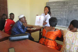 The Water Project: Lungi, International High School For Science & Technology -  Hygiene Facilitator Discusses Bad Hygiene Practices