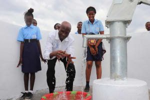 The Water Project: Lungi, International High School For Science & Technology -  School Proprietor At The Well