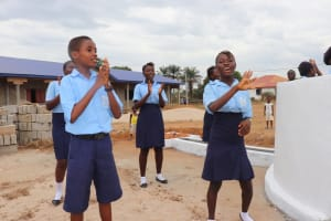 The Water Project: Lungi, International High School For Science & Technology -  Students Singing